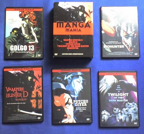 manga manie box