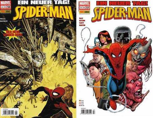 spider-man 56-57