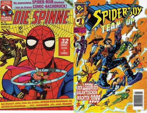 spiine & spider-boy