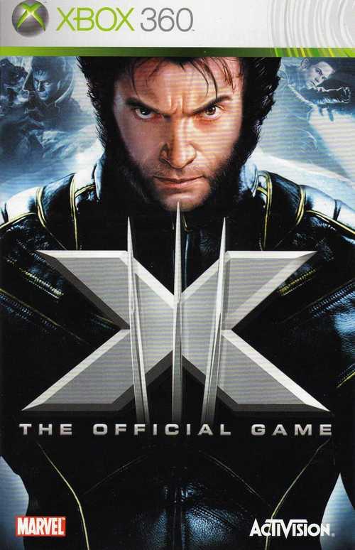 x-men 3 game x-box 360