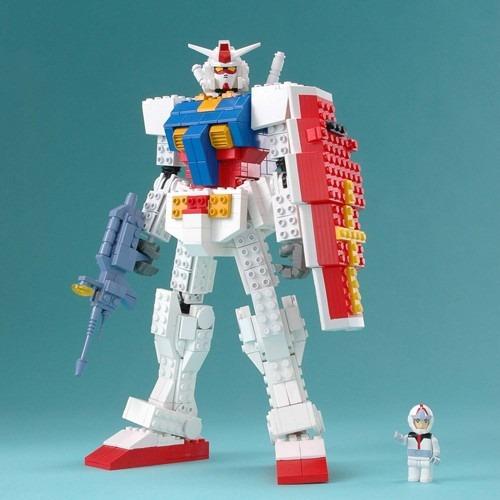 Gundam Lego 01