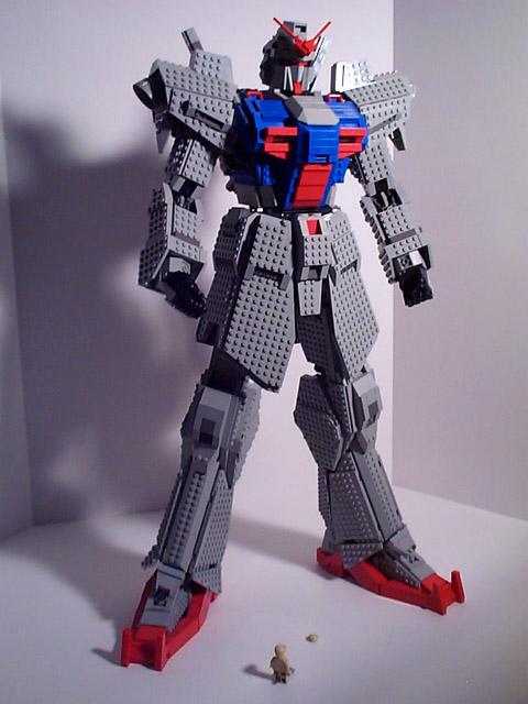 Gundam Lego 13