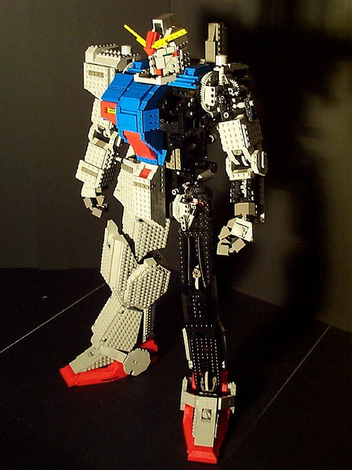 Gundam Lego 4