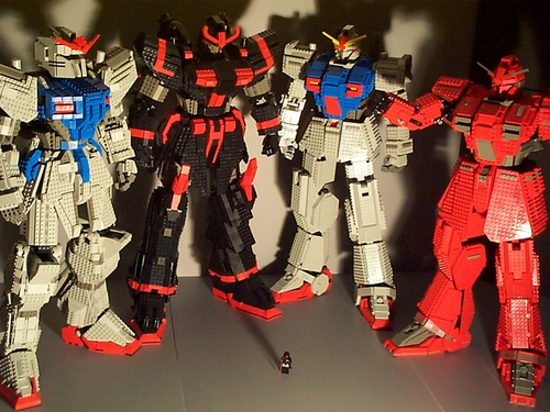 Gundam Lego 6