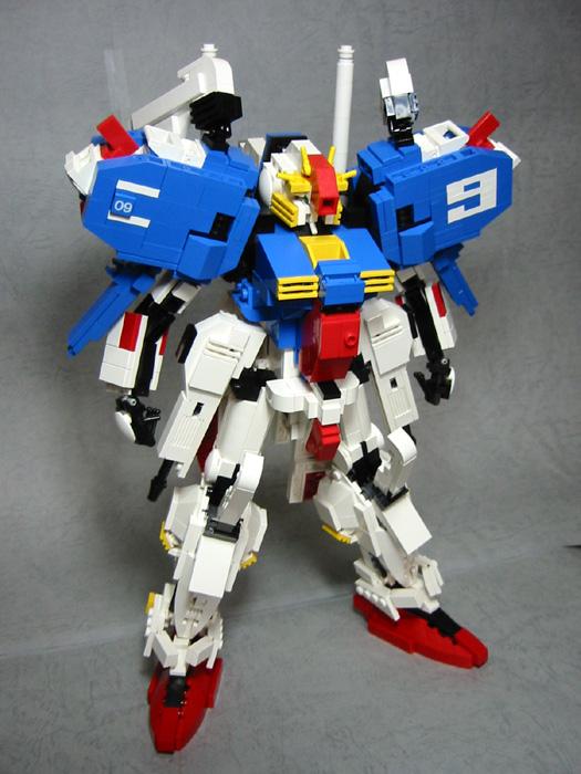 Gundam Lego 8