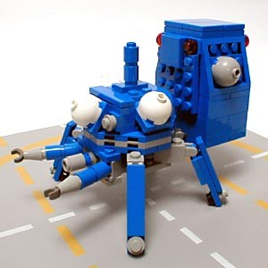 Tachikoma Lego 2