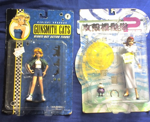 gits und gunsmith cats figuren