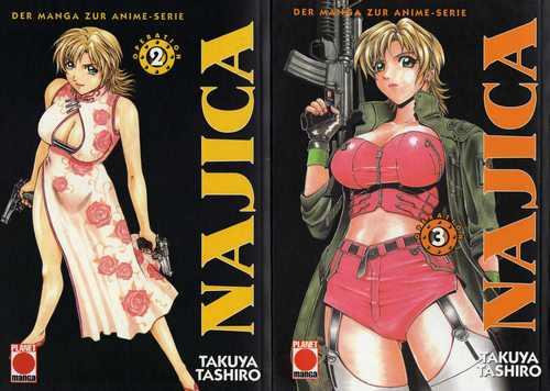 najica manga 2-3