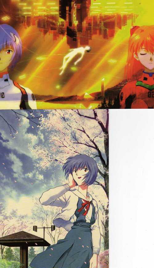 nge postkarten x3