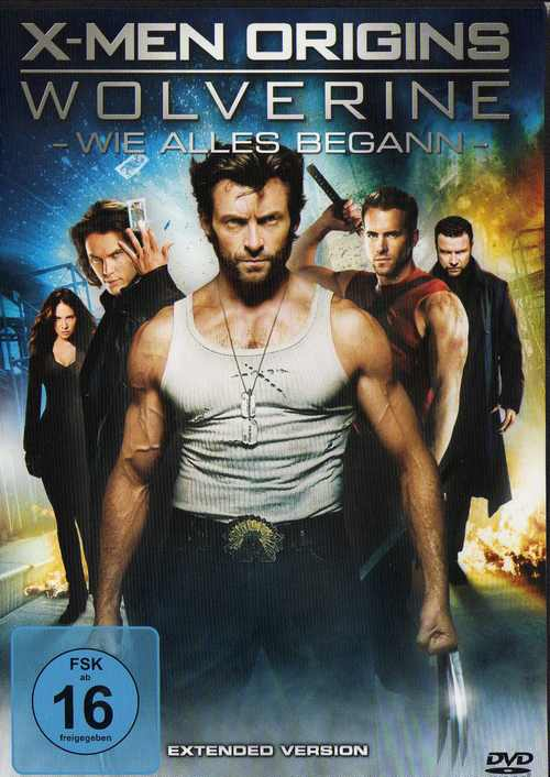 wolverine dvd cover